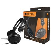 Гарнитура Canyon Simple USB headset (7XCNECHSU1B) Black